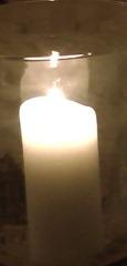 sacred altear candel