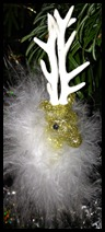 golden raindeer