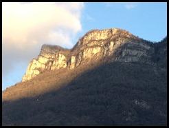 golden sun on mountain