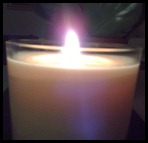 i light a candle for you