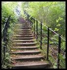 steps upwards and onwards