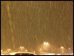raining snow