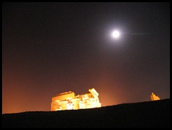 full moon in egypt