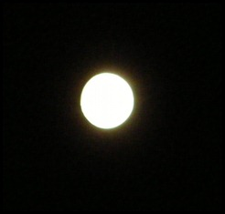 full moon SMILING