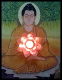buddha lotus heart