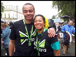 dad we did this for you U inspired this 10K Jeremy & Toks xxxx