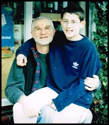 ioanis and dad (14 yrs)