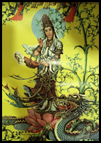 Quan Yin with dragon