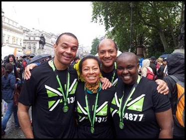 We did it Yes we did  Medals & Smiles Jeremy Toks Patric Atiti 8.7.2012
