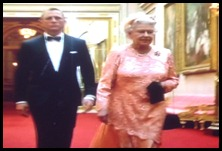 007 Bond and the Queen