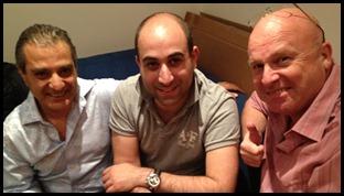 3 Musketeers Eli, Joe, Martin