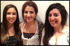 Ria, Danielle, Gabi