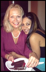 Diane and Darshana