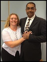 Mr & Mrs Gordon D'Silva