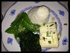 greens rice