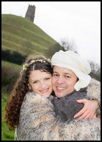 Samjhana Moon marries Charlie Taillard in Glastonbury