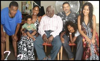 Yemi Olowu and family