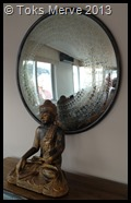 Magic mirror and Mr Buddha