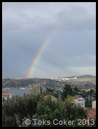 rainbow in instabul