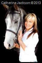Catherine Jackson and JJ her lovely horse