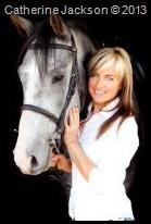 Catherine Jackson and JJ her lovely horse