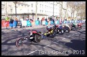 disabled wheelchair marathon participants
