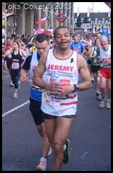 Jeremy Coker London Marathon 2013