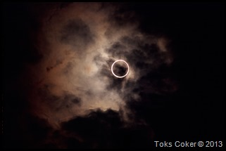 Annular Solar Eclipse Japan 21.5.2012
