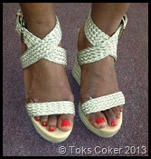 Lovely feet Ronke Lawal