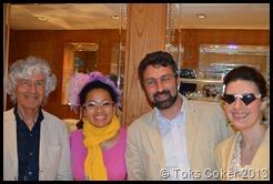 Silvia,Toks, Ugo, Elena in Venice