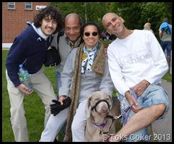 Yanni, Patric, Toks, Gary, Charlie