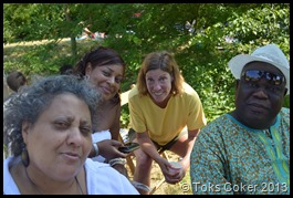 Rebecca, Nkem, Catherine, Tolu
