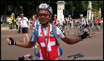 Julian Coker Ride London 100 miles