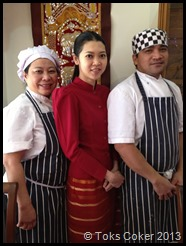 Lovely Staff at Thai Garden, 47 High St, Surrey KT138BB