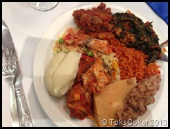 Nigerian Lunch
