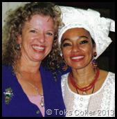 Donna Eden and Toks Coker
