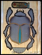 scarab Khepera worship of Atum