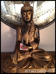 Blessings from the  Buddha