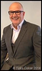 Colin McKay smiles