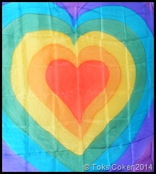 colour healing heart