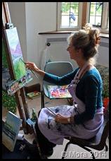 Morag painting 2013