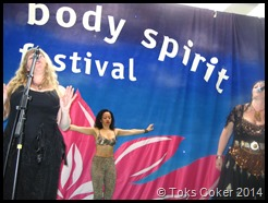 Toks at Mind Body Spirit Festival