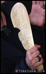 Whale Bone rough side