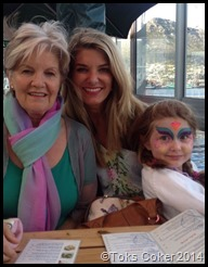 Karen Boorsma and daughter Emma and her mother