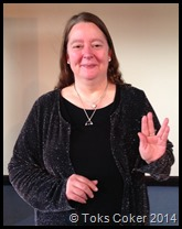 Live Long and Prosper says Sylvia Vulcan Greeting