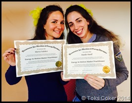 Merve and Hande Master Practitioners