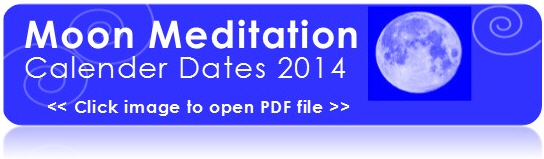 Moon Meditation Calendar Dates for 2014