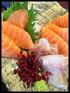 toks loves sashimi