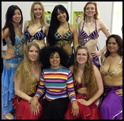 Melissa Belly Dance and The Mahira Girls Mind Body Spirit Exhibition