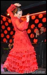 bajari flamenca barcelona fire